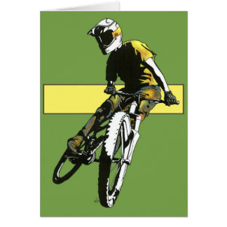 Biker1 - Green/Yellow Card