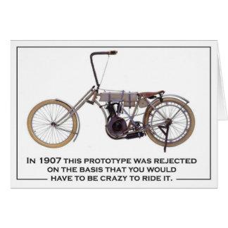 Biker 1907 chopper card