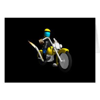Biker 2 card
