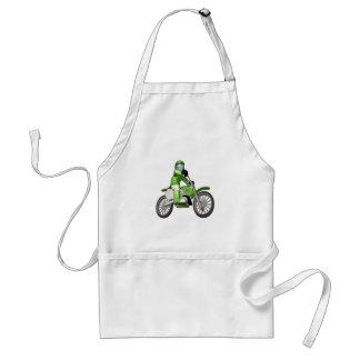 Biker 3 adult apron