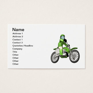 Biker 3 business card