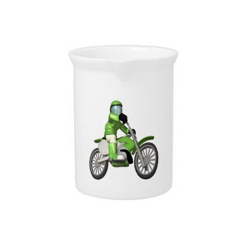 Biker 3 drink pitchers