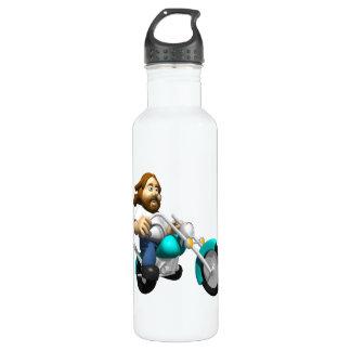 Biker 4 stainless steel water bottle