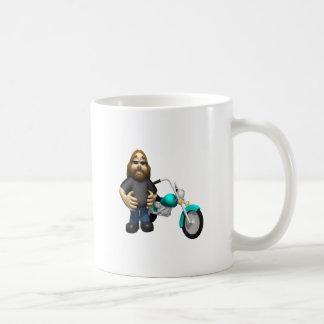 Biker 5 coffee mug