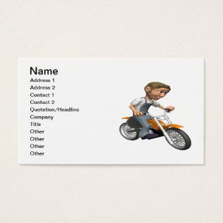 Biker 6 business card