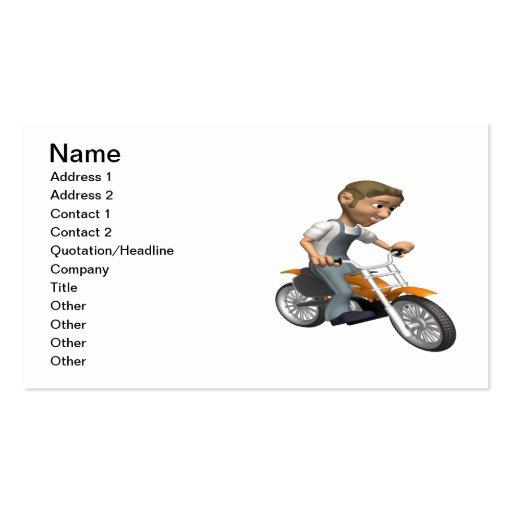 Biker 6 business card templates