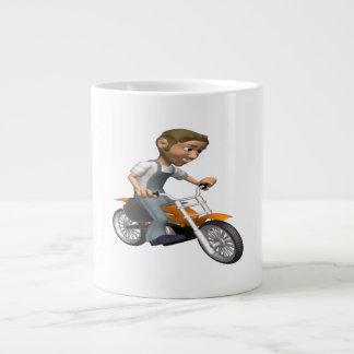 Biker 6 giant coffee mug