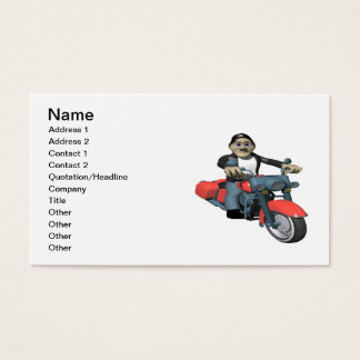 Biker 7 business card