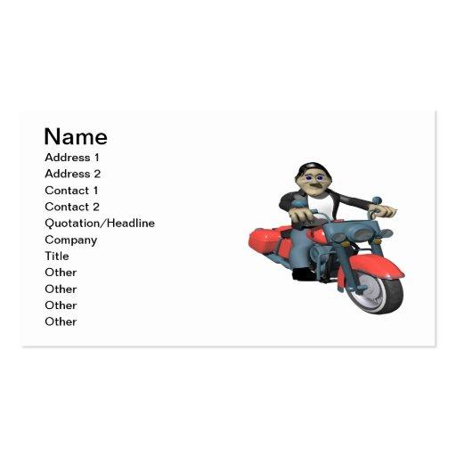 Biker 7 business cards