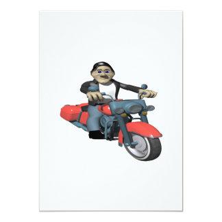 Biker 7 card