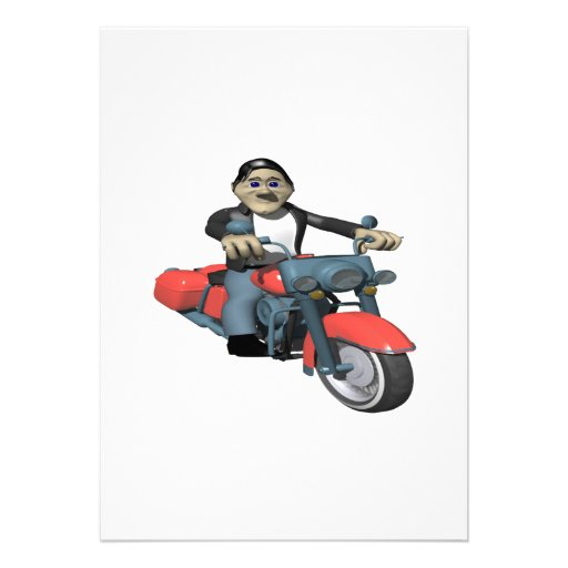 Biker 7 custom announcements