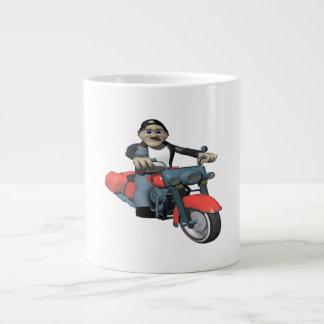 Biker 7 large coffee mug