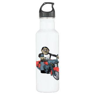 Biker 7 stainless steel water bottle