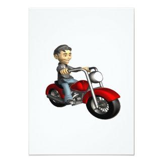 Biker 9 card
