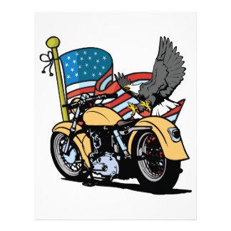 Biker American Eagle Letterhead
