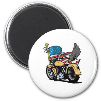 Biker American Eagle Magnet