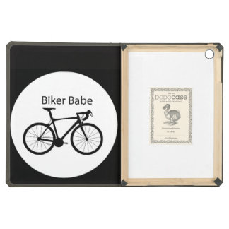"""Biker Babe"" Cover For iPad Air"