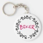 Biker Babe Keychains