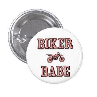 Biker Babe Pin