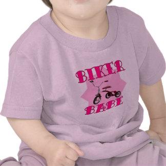 Biker Babe /pink T Shirt