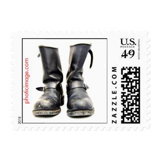 Biker Boots Stamp