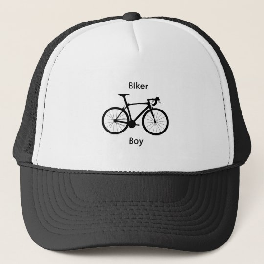 Biker boy trucker hat