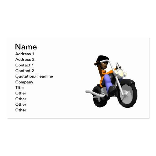 Biker Business Cards