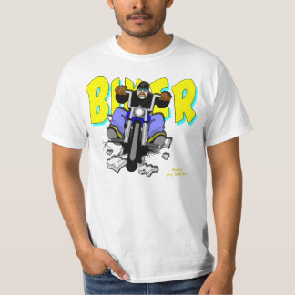 BIKER CARTOONS / BUBBA'S TOONE TEES / ALASKAN