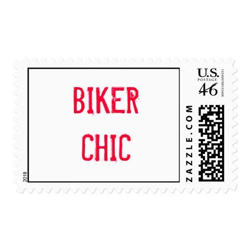 BIKER CHIC STAMP
