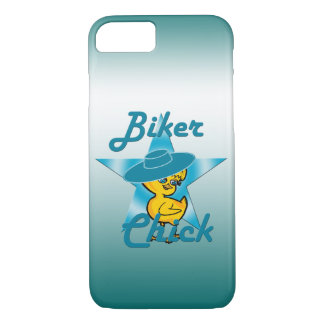 Biker Chick #7 iPhone 8/7 Case