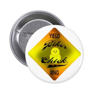 Biker Chick Buttons
