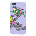 biker chick froggy frog animal cartoon iPhone 5 case