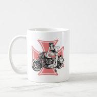 Biker Chick - Maltese mug