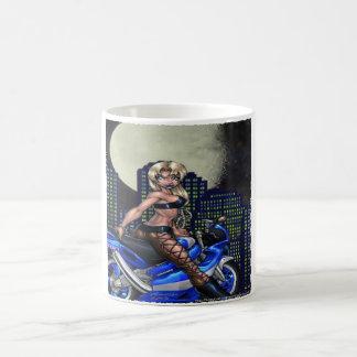 Biker Chick - Morphing Mug