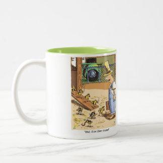 Biker Chicks Original Cartoon coffee mug rgt hand