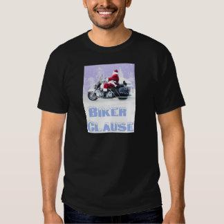 biker clause t shirt