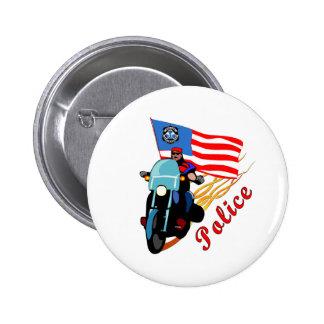Biker Cops Buttons