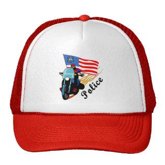 Biker Cops Trucker Hats