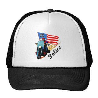 Biker Cops Mesh Hats