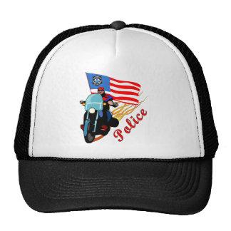 Biker Cops Trucker Hat