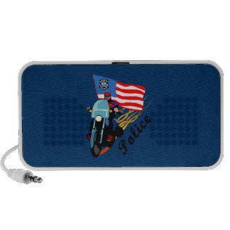 Biker Cops iPod Speakers