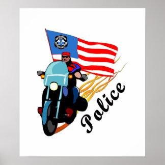 Biker Cops Print
