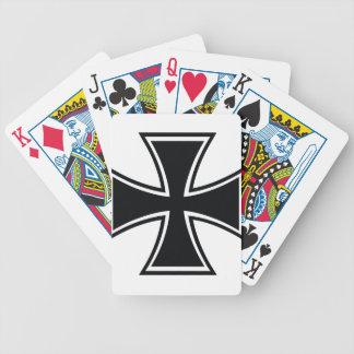 Biker Cross Deck Of Cards