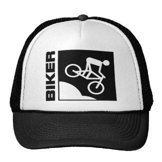 biker cyclist bike mtb mountainbike downhill trucker hat