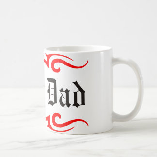 Biker Dad Classic White Coffee Mug