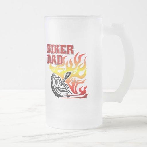 Biker Dad Frosted Mug