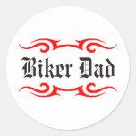 Biker Dad Stickers