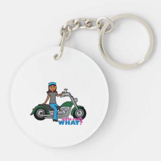 Biker - Dark Keychain