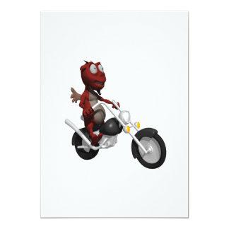 Biker Devil Card