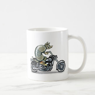 Biker Dillo Coffee Mug